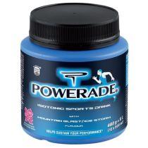 Este es el formato en que se vende Powerade en polvos.