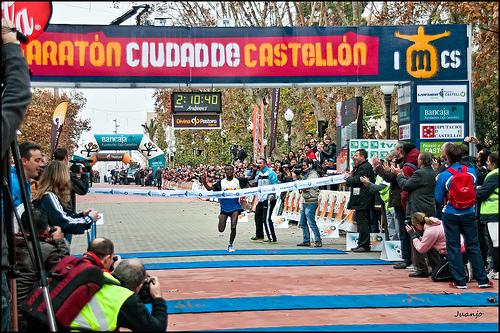 Campeón de la maratón de Castellón 2010