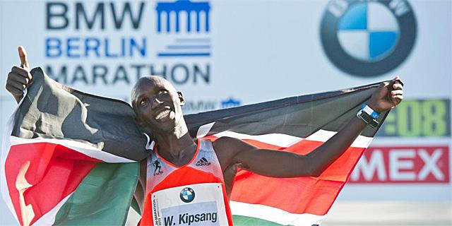 Wilson Kipsang: nuevo record mundial de maratón en Berlín con un tiempo de 2:03:23