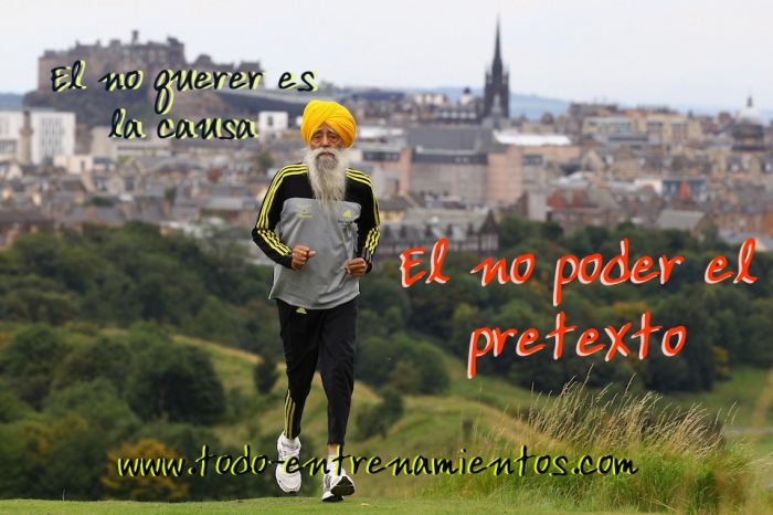The World's Oldest Marathon Runner Fauja Singh Prepares Ahead Of The Edinburgh Marathon