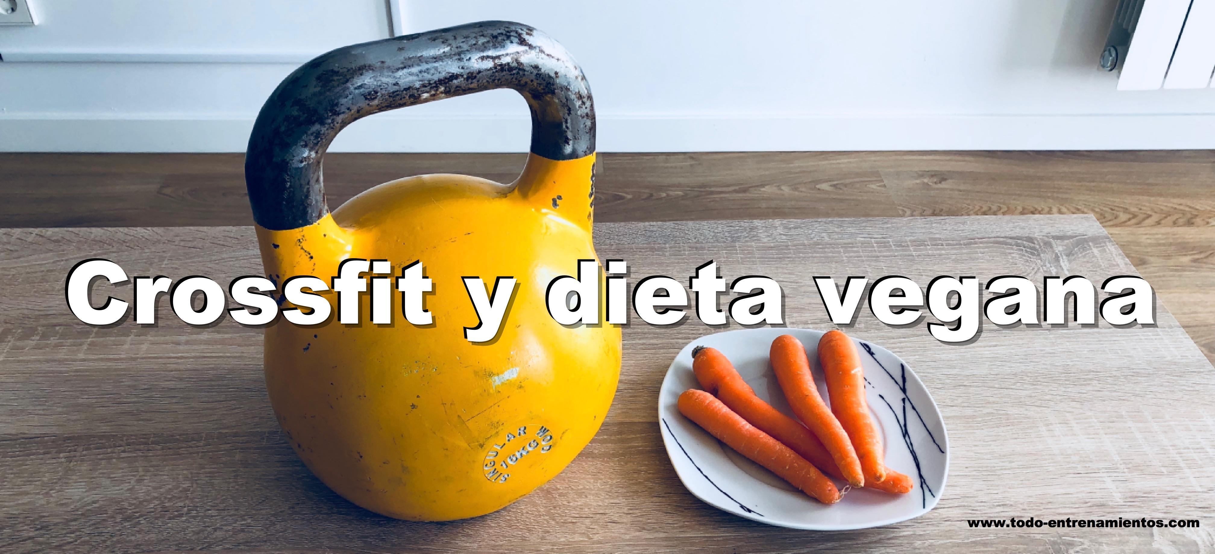 dieta vegana para crossfit